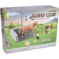 Made Dostihové centrum pro koně hnědý kůň