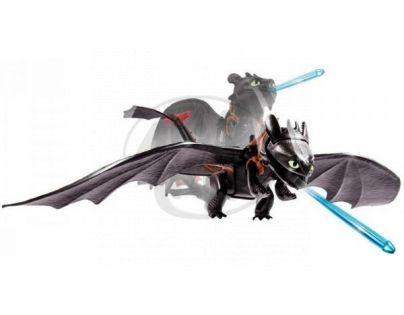 Dragons Akční figurky draků - Toothless Lunge Attack