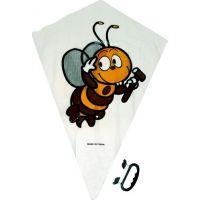 Drak létající s motivem včelka