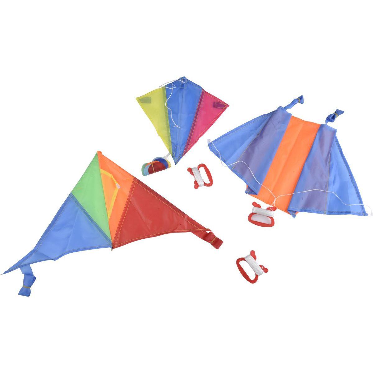 Drak lietajúci nylon farebný