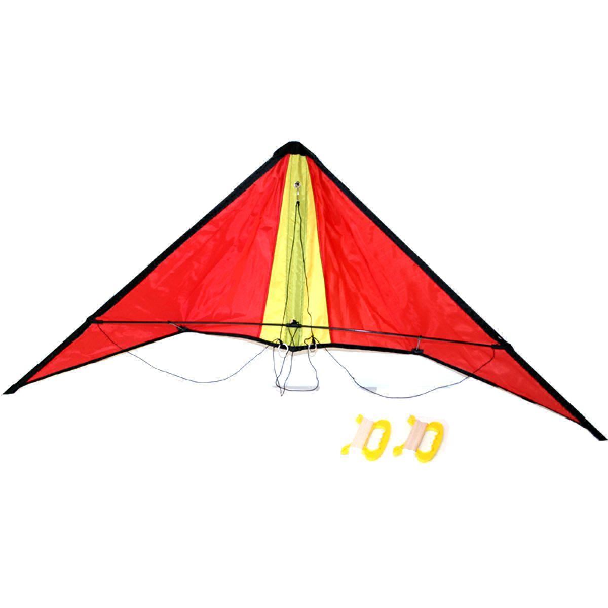 Rappa Drak rogalo nylon 127x38 cm 2 úchyty