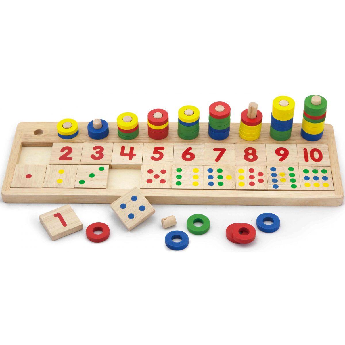 Viga Dřevěná hra počítání
