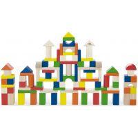Viga Dřevěná stavebnice 100 kostek