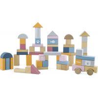 Viga Dřevěná stavebnice 60 kostek