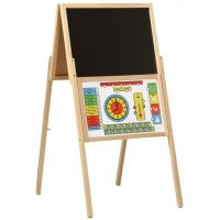 Jaroš Dřevěné hračky Tabule skládací A magnetická
