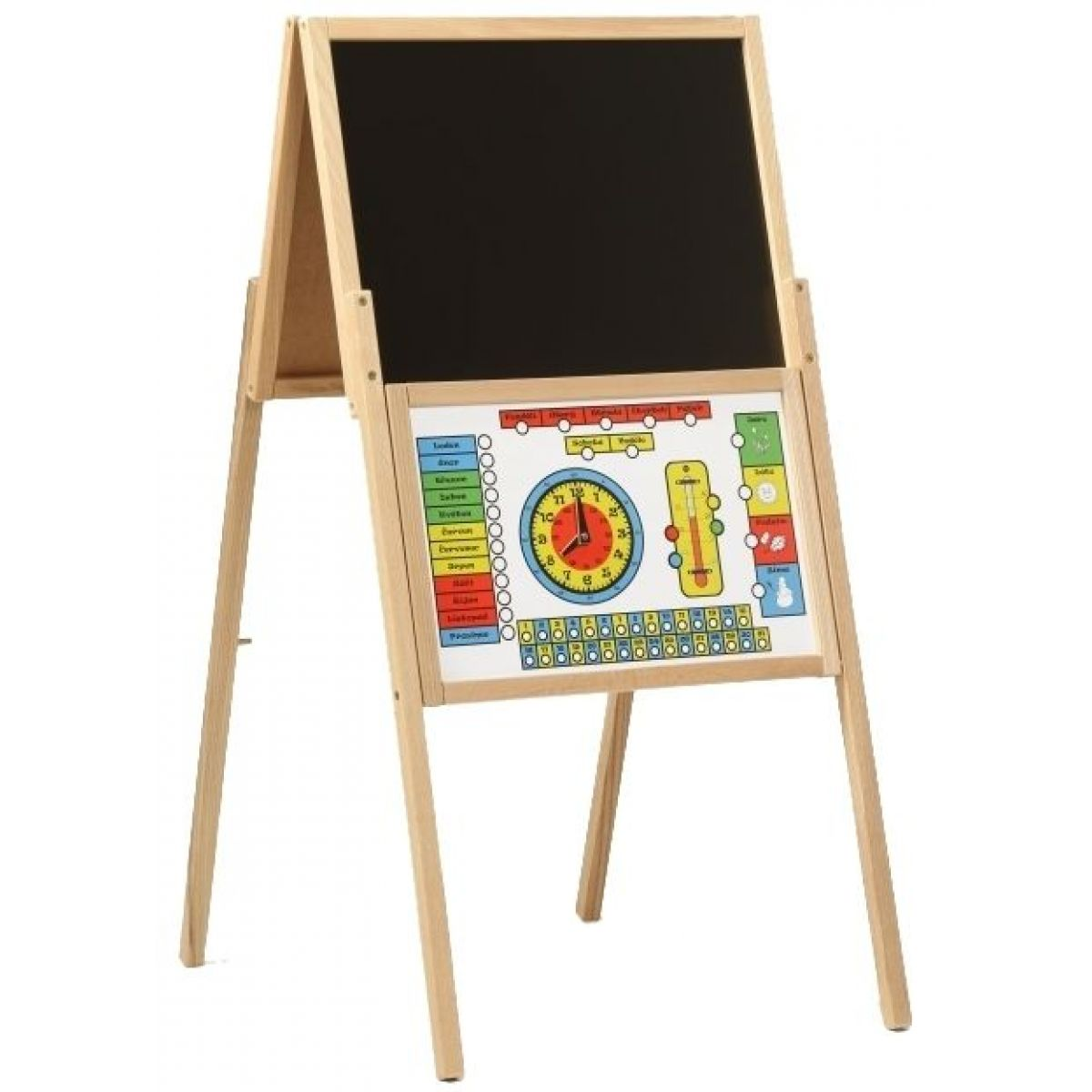 Dřevěné hračky Jaroš Tabule skládací A magnetická