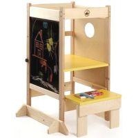Dřevěné hračky Jaroš Učící věž víceúčelová 2