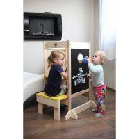 Dřevěné hračky Jaroš Učící věž víceúčelová 5