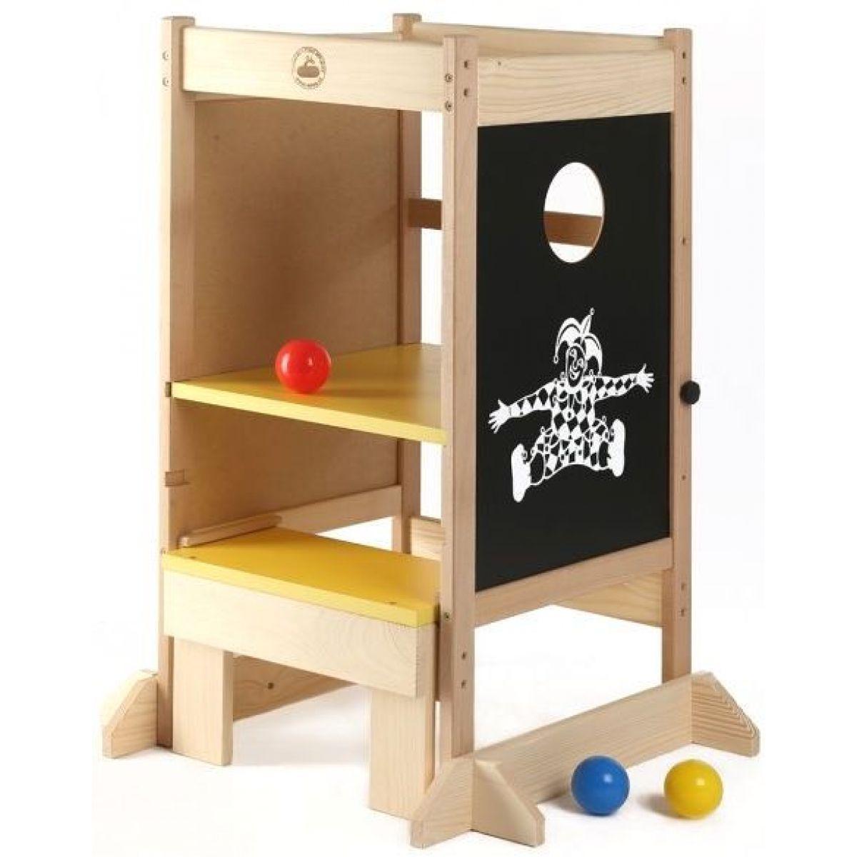 Dřevěné hračky Jaroš Učící věž víceúčelová