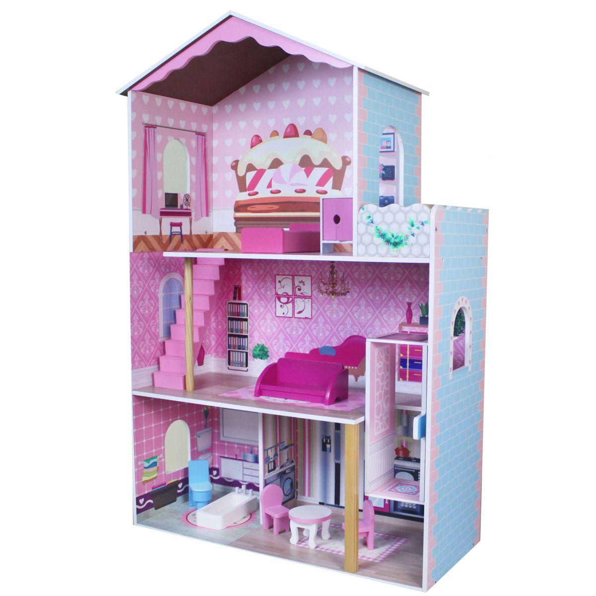 Dřevěný Domeček pro panenky 3476 Lamps