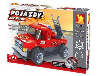 Stavebnice Dromader Auto RC Hasiči 20113 na vysílačku na baterie