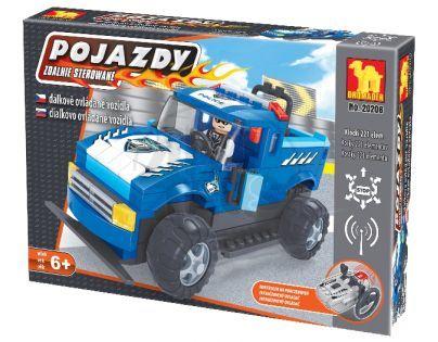 Stavebnice Dromader Auto RC Policie 20206 na vysílačku