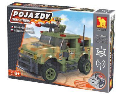 Stavebnice Dromader Vojáci Auto RC 20218 na vysílačku