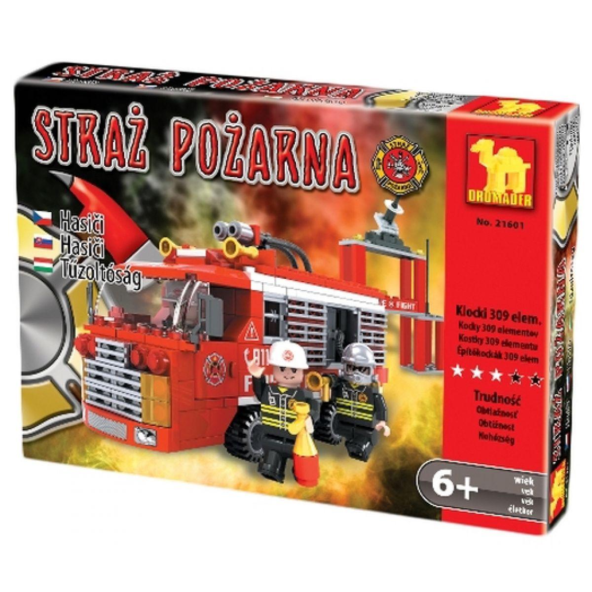 Dromader Stavebnice Požární hlídka 309 dílků