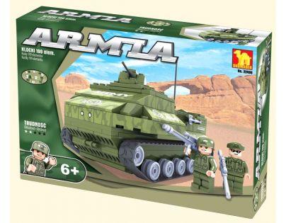 Dromader Stavebnice Vojáci Tank 199 dílků