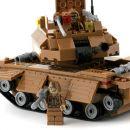 Dromader Stavebnice Vojáci Tank 229 dílků 3