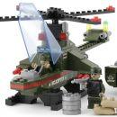 Dromader Stavebnice Vojáci Tank a Vrtulník 253 dílků 5