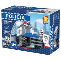 Dromader Stavebnice Policie Auto 33 dílků
