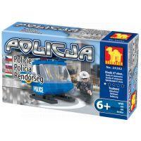 Stavebnice Dromader Policie Vrtulník 23202
