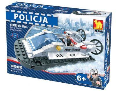 Dromader Stavebnice Policie Člun 137ks