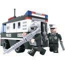 Dromader Stavebnice Policie Dodávka 127 dílků 3