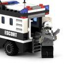 Stavebnice Dromader Policie Auto Dodávka 23404 4