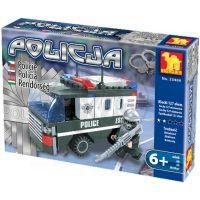 Stavebnice Dromader Policie Auto Dodávka 23404