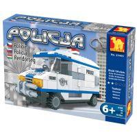 Stavebnice Dromader Policie Auto Dodávka 23405