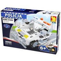 Dromader Stavebnice Dromader Policie Auto 114 dílků