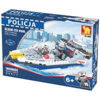 Dromader Stavebnice Policie Člun 215 dílků