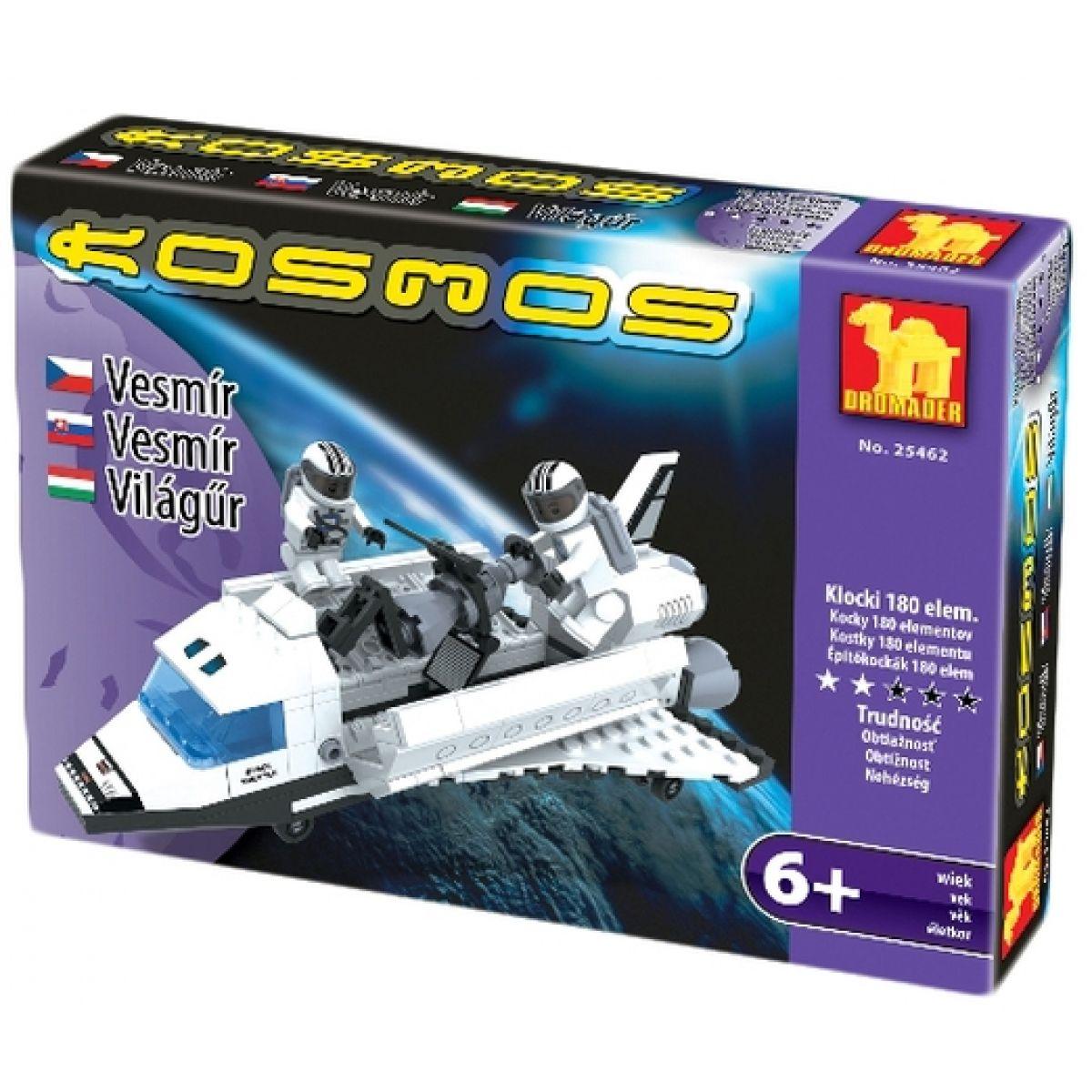 Dromader Stavebnice Kosmický Raketoplán 180 dílků
