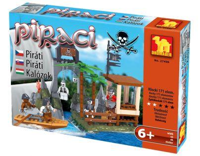 Dromader Stavebnice Piráti 171ks