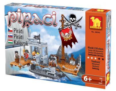 Dromader Stavebnice Piráti Ostrov 238 dílků