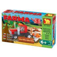 Dromader Stavebnice Farma Traktor 93 dílků