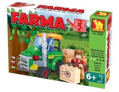 Dromader Stavebnice Farma Traktor 103 dílků