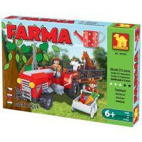Dromader Stavebnice Farma Traktor 215 dílků