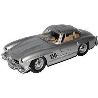 Welly Auto Mercedes Benz 300 SL 1:24 stříbrný