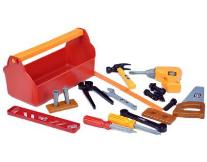 Dromader 220291 - Malý stavař - nářadí v kufříku
