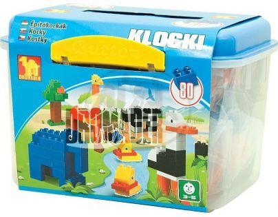 Dromader Maxi  Kostky v boxu 80 dílů