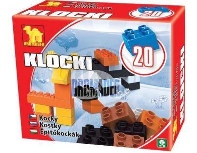 Dromader Maxi Kostky 20 dílů