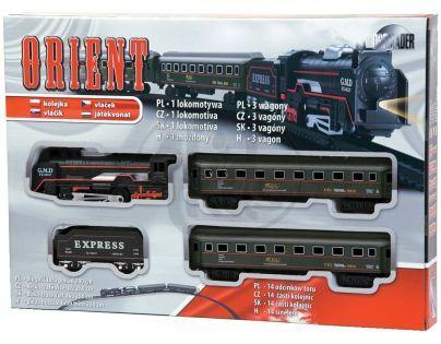 DROMADER 0306 - Orient Vlak se 3 vagóny (280cm) - na baterie