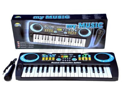 DROMADER 00551 - Keyboard s mikrofónem
