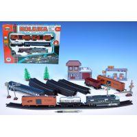 Dromader Vlak s 5 vagónky a doplňky 403 cm 3