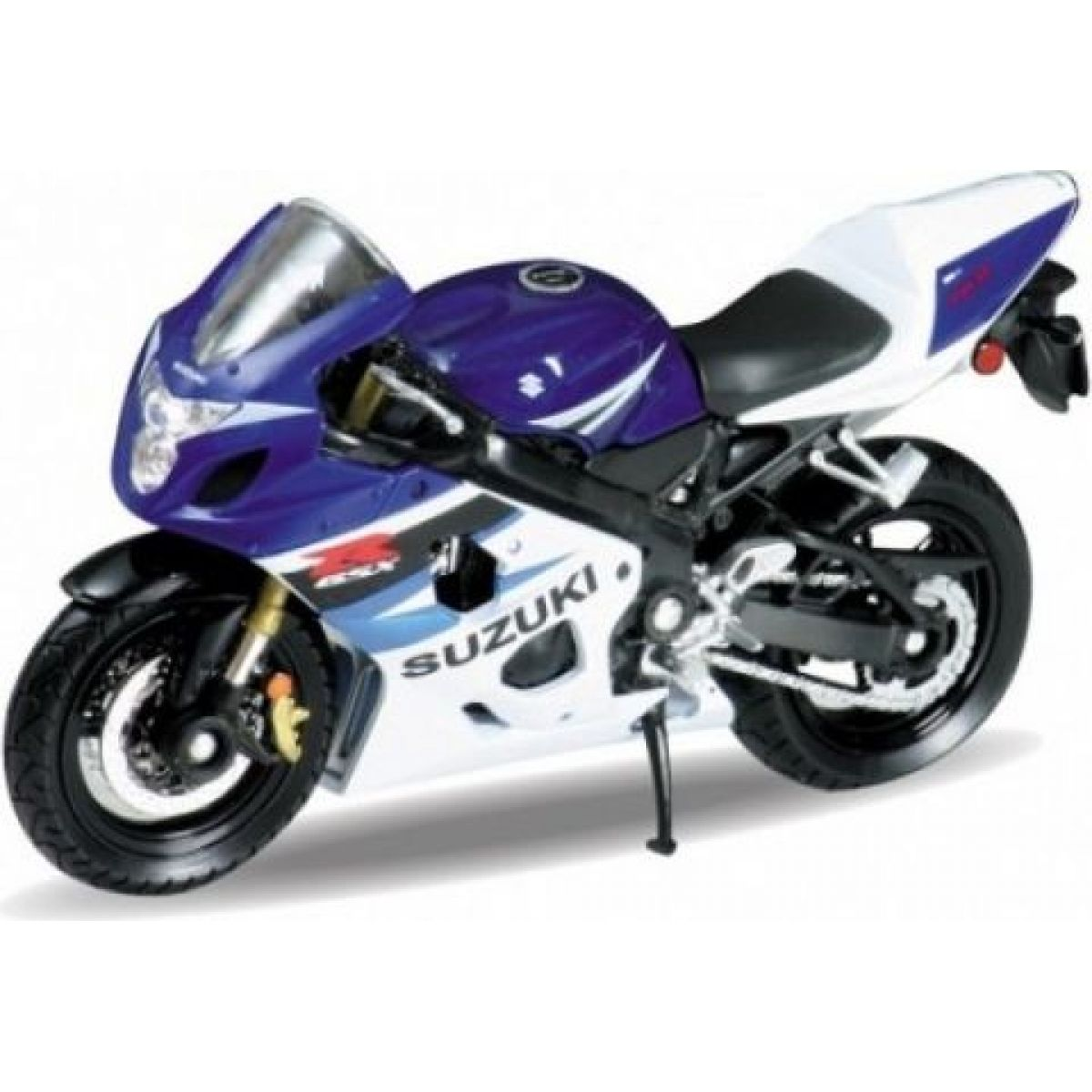 Dromader Welly Motorka 11cm Suzuki GSX-R750