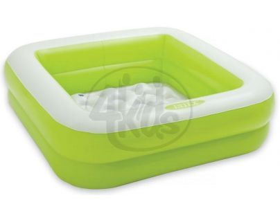 Intex 57100 Dětský bazének čtverec - Zelená