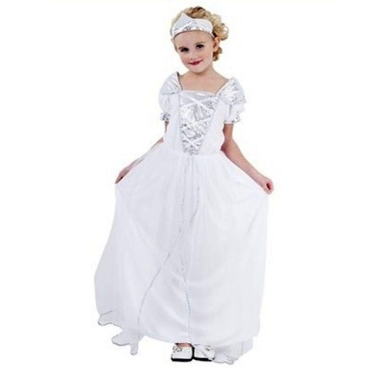 Dětský kostým Princezna s korunkou 5-9 let