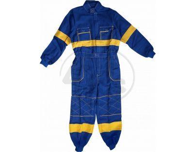 Dětská montérková kombinéza vel. 140 prodloužená - Modrá