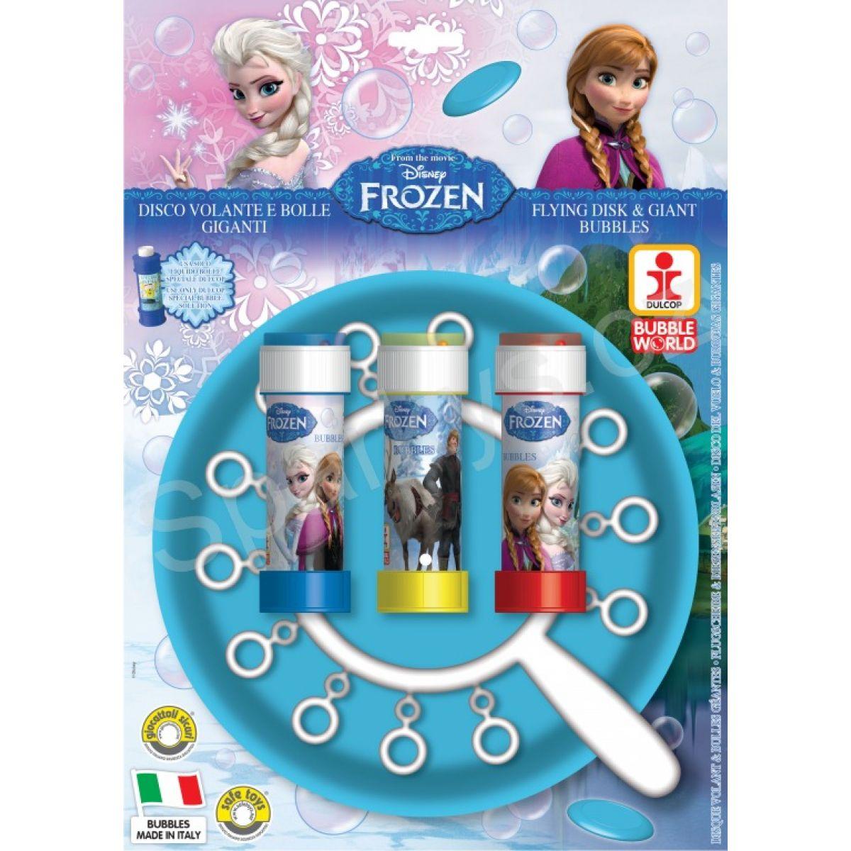 Dulcop Ledové království Výroba bublin s diskem Frozen