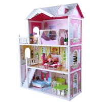 HM Studio Dům pro panenky 14 ks doplňků