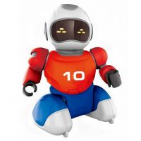 Dva Roboti s míčkem na dálkové ovládání a dvěma brankami 3
